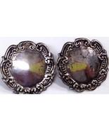 Vintage Sterling Silver Earrings - $18.34