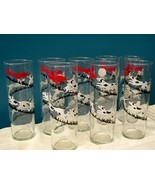 Vintage Libbey Glass Fox and Hound Tumblers Set of 8 - $45.00