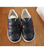 NIB 100% AUTH GUCCI trainer with web detail 257772 - $158.00