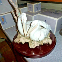 Lladro 01006478 THE PELICANS Porcelain Figurine Perfect Condition Box Or... - $1,188.00