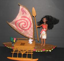 Disney Moana Starlight Canoe & Friends Playset - $44.98