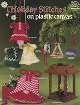Holiday Stitches, Made It Myself Plastic Canvas Pattern 019-10 Bell Garl... - $5.95