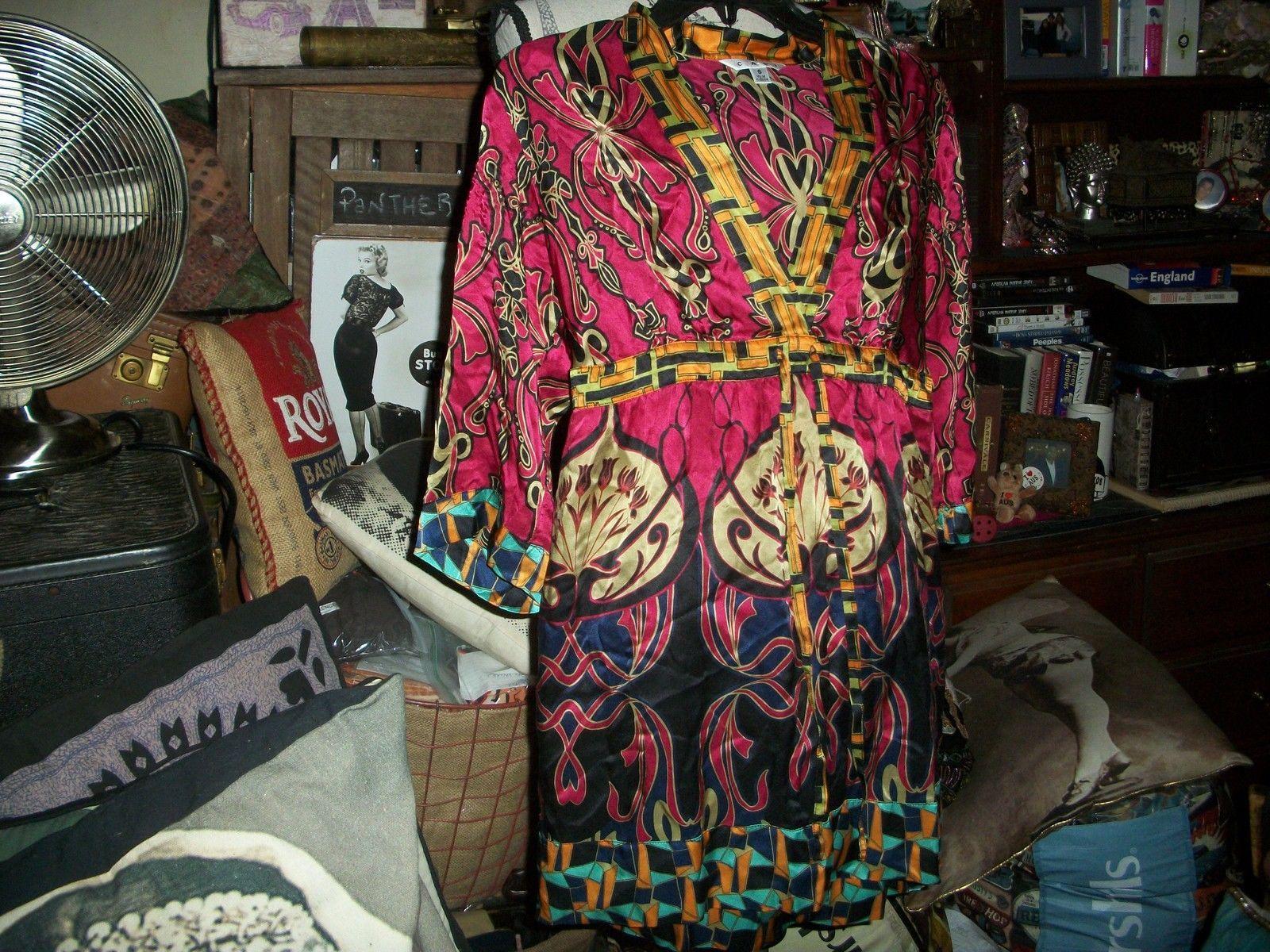 a245b636a3d2b CAbi Eye Candy Boho Silk Blouse Size S and 14 similar items