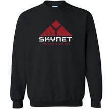 237 Skynet Crew Sweatshirt terminator 80s movie 90s cyberdyne new machin... - $20.00+