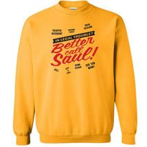 238 Better Call Saul Crew Sweatshirt lawyer tv show heisenberg new funny... - $20.00+