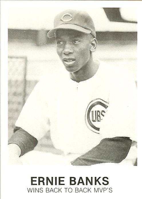 Primary image for 1984 ernie banks chicago cubs renata galasso baseball card