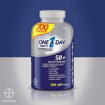 One A Day Men's 50+ Healthy Advantage Multivitamin, 300 Tablets - $18.88