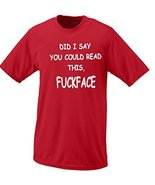 Did I Say You Could Read This T-shirt XX Red - $18.95
