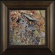 Wrapped in Color By Todd Thunstedt 20x20 Floral Landscape Birdhouse Fall... - $69.00