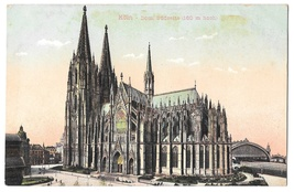 Germany Koln Dom Sudseite Cologne Cathedral South Side Vintage Postcard - $4.99