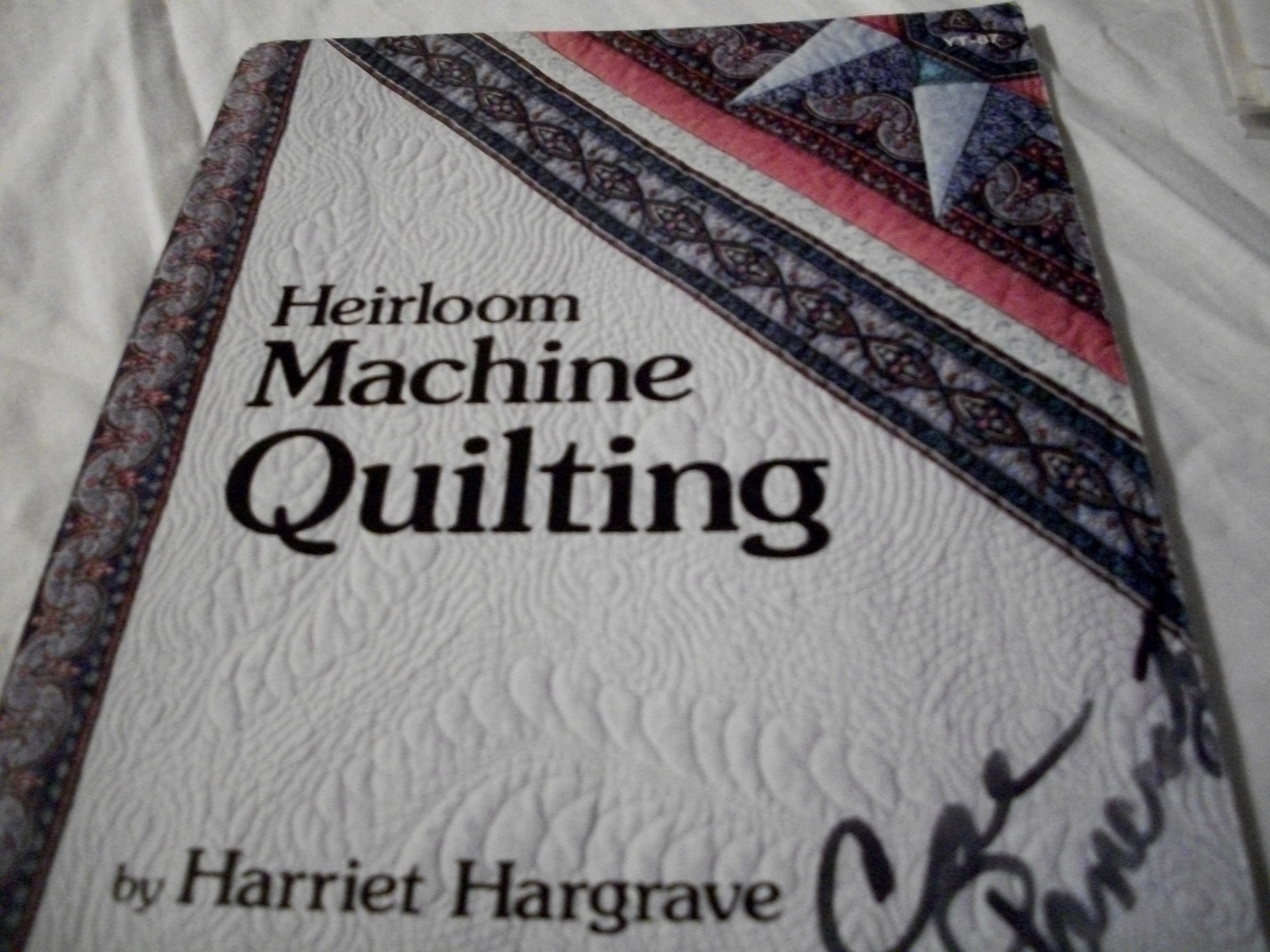Heirloom Machine Quilting - $5.00