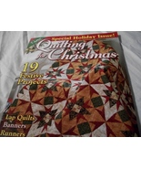 Quilting for Christmas: Special Holiday 2009  Issue Magazine - $5.00
