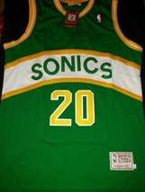 1Gary Payton #20 Super Sonics Retro Classic Throwback Jersey Stitched Ha... - $22.95