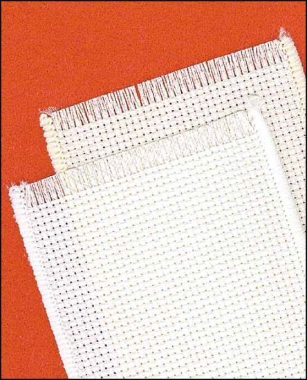 8722 white pearl banded fringed janlynn bookmark