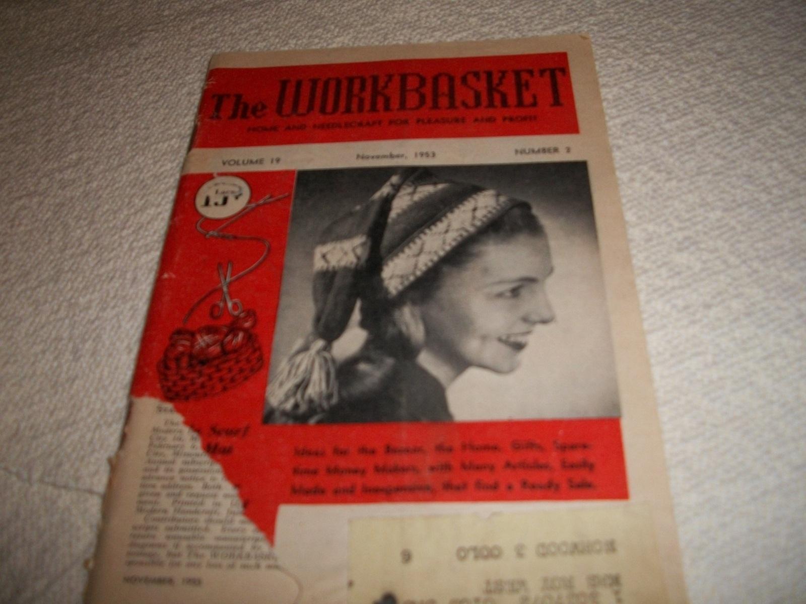 The Workbasket Magazine November 1953 - $5.00