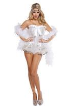 Sexy Roma Flirty Flapper Roaring 20's Complete Halloween Costume S M L 4622 - $99.00