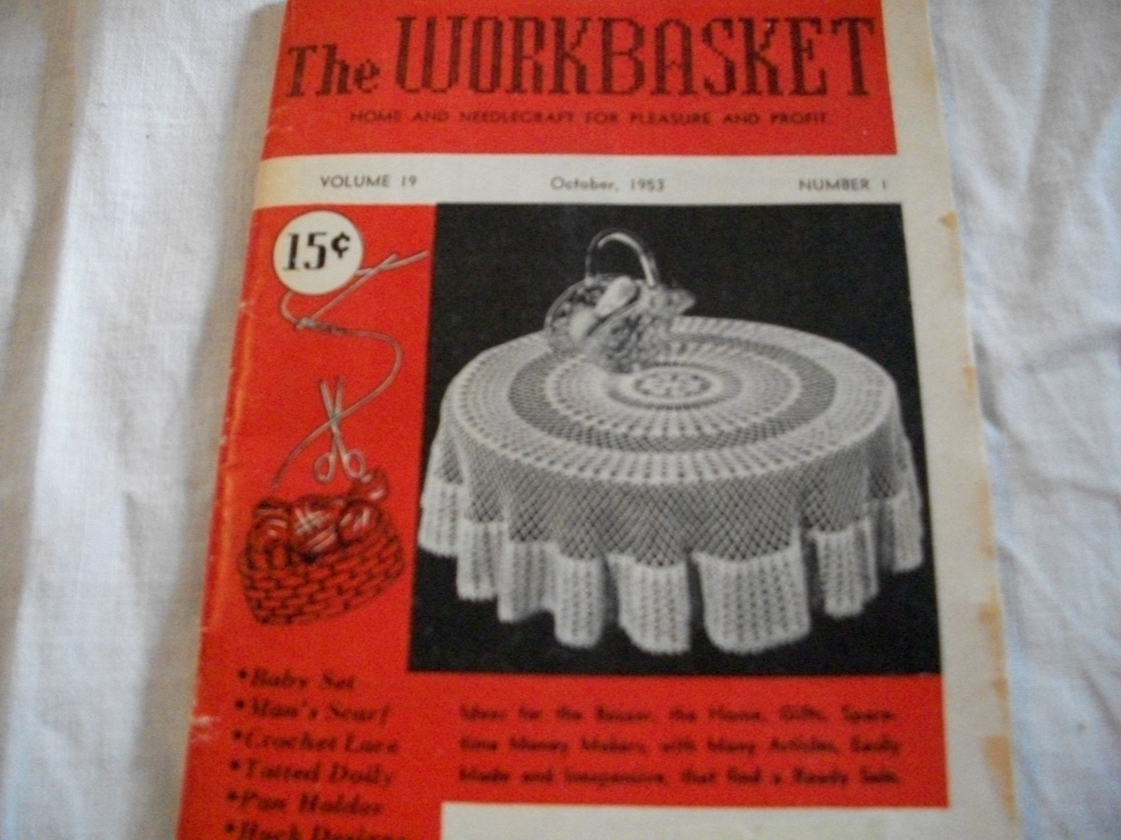 The Workbasket Magazine October 1953 and 50 similar items