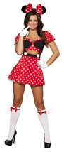 Roma Mousey Mistress Minnie Halloween Costume W/WO HOSE BOWS GLOVES S/M ... - $65.00+
