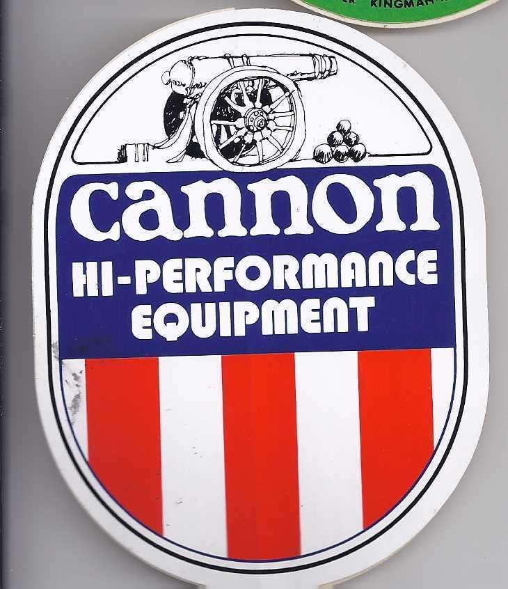 Sticker cannon equipt