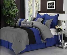 Bed In Bag 8 Piece Comforter Bedroom Bedding Set Microfiber Wrinkle Resistant  - $167.02+