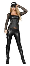 Roma Sexy Swat Agent Cop Police Halloween Costume W/WO EXTRAS S M L 4399 - $99.00+
