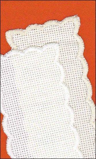 2353 white basic bookmark yarn tree