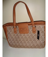 DKNY Tan Large Fashion Handbag Retail Value $245 Brand New With Tags - $84.99