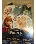 Disney Frozen Prism Foil Tattoos - 25 Temporary Tattoos - $7.83