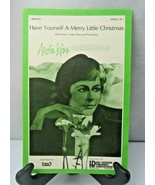 Have Yourself A Merry Little Christmas Anita Kerr Songs & Sheet Music 1972 - $8.00