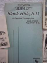 Vintage Souvenir Album Set Back Hills South Dakota 16 Genuine Photo - $7.99