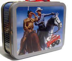 Retro Miniature Size Lone Ranger Metal Lunch Box – 5 inch x 4 inch x 2 inch - $10.00