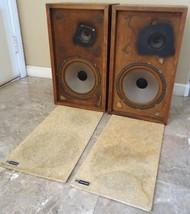 Vortex Speakers 1950's Vintage (unknown model), See Video ! - $240.00