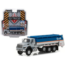 2018 International WorkStar Gulf Oil Tanker Truck S.D. Trucks Series 4 1... - $25.50