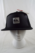 Quiksilver Cranky Hat SnapBack Grey, Black  NWT One Size - $19.30
