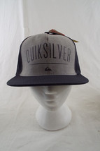 Quiksilver Hat SnapBack Black with Gray Panel NWT One Size - $18.91
