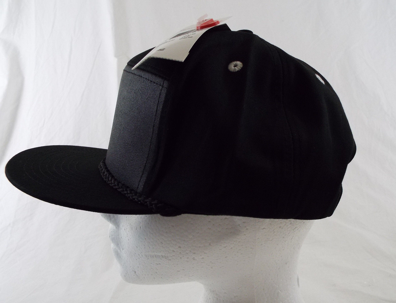 Quiksilver Cranky Hat SnapBack Grey, Black  NWT One Size