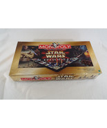 1999 STAR WARS Episode I 1 MONOPOLY Hasbro Fantasy Real Estate Board Game - $18.60