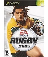RUGBY 2005 Microsoft XBOX Game COMPLETE CIB + - $4.64