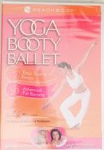 Yoga Booty Ballet Total Toning Basics & Advanced Fat Burning [DVD,New] Beachbody - $37.90