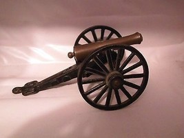 Brass Cast Iron Mini Desktop Cannon Revolutiona... - $24.75
