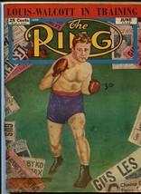 RING MAGAZINE-6/1948-BOXING-WALCOTT-FITZSIMMONS-ROCKY!! VG - $43.46