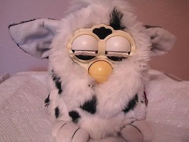 Two Black and White spotted furbies(1998 models)work - $59.40