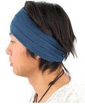 Casualbox mens Japanese Fashion Elastic Headband Sports Outdoor Type Blue - $421,98 MXN