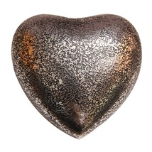 Glenwood Small Heart Keepsake Urn with Stand, Brass Funeral Urn Ashes - $57.20