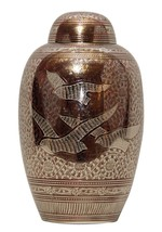 """7"""" Inches Doves Going Home Red Memorial Urn for Ashes, Medium Cremation Urns - $167.60"""