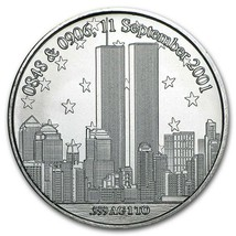 1 oz Silver Round - Forever In Our Heart 9/11 - $42.00
