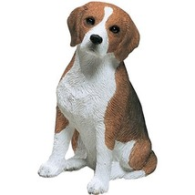 Sandicast Mid Size Beagle Sculpture, Sitting - $39.98