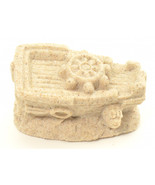 SAND-DECO Sand Sculpture Figurine Sunken Ship 1450G Collectible Beach Ho... - $12.99