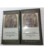 Power Over People Classical and Modern Political Theory Parts I & II 4 DVDs - $53.90