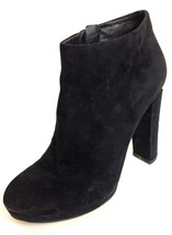 8.5 MICHAEL Michael Kors Black Suede Haven Plat... - $47.52